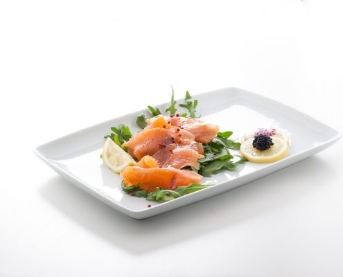 Salmone marinato dallo chef