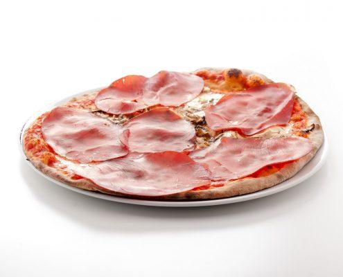 Pizza bresaola e funghi