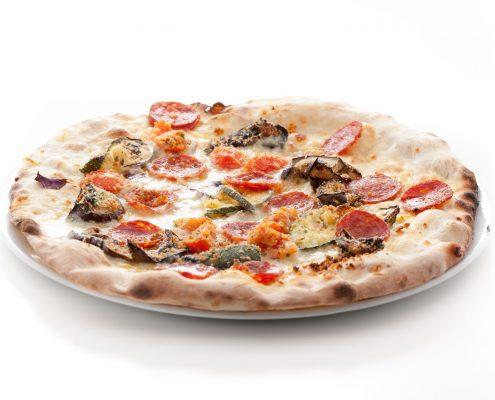 Pizza con i gratinati